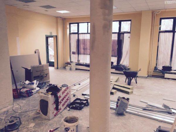 Budowa klubu Ladies Gym Ursynow